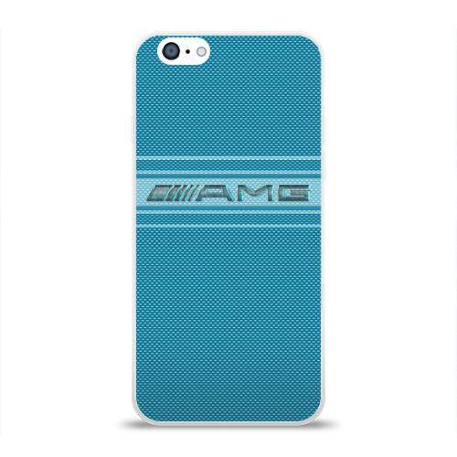 Чехол для Apple iPhone 6 силиконовый глянцевый  Фото 01, AMG-Sport