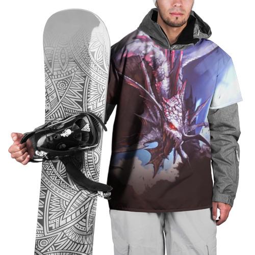 Накидка на куртку 3D  Фото 01, Dragon