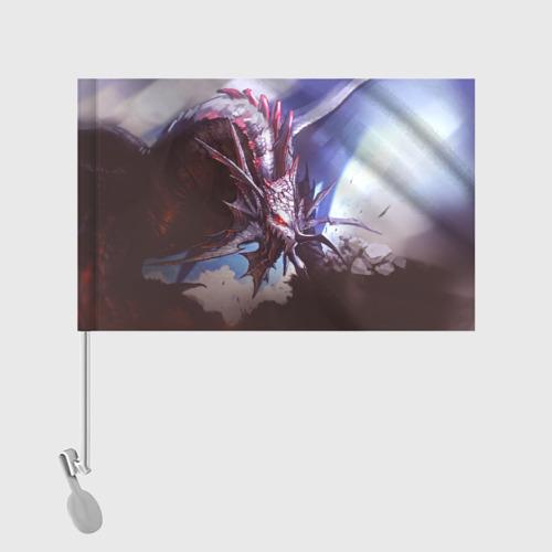 Флаг для автомобиля Dragon Фото 01