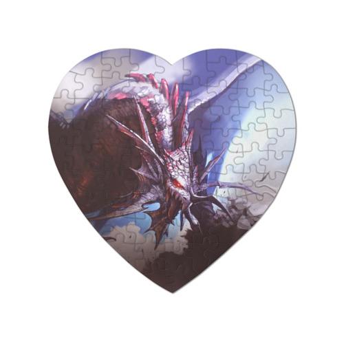 Пазл магнитный сердце 75 элементов Dragon