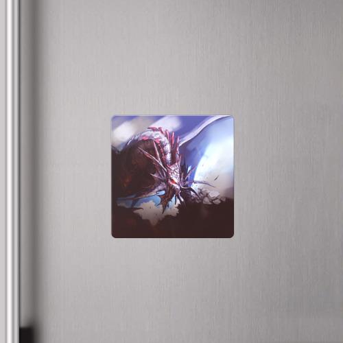 Магнит виниловый Квадрат Dragon Фото 01