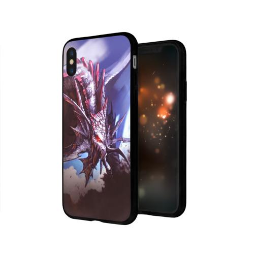 Чехол для Apple iPhone X силиконовый глянцевый Dragon Фото 01