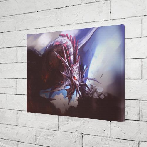 Холст прямоугольный Dragon Фото 01