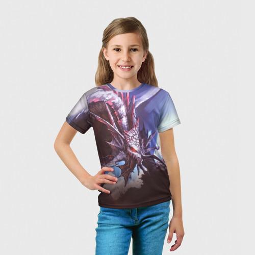 Детская футболка 3D Dragon Фото 01