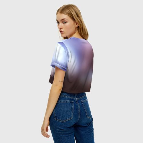 Женская футболка Crop-top 3D Dragon Фото 01