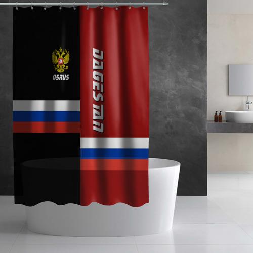 Штора 3D для ванной  Фото 03, DAGESTAN (Дагестан)