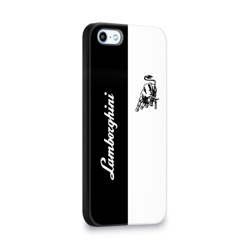 Чехол для Apple iPhone 5/5S 3D  Фото 02, Lamborghini