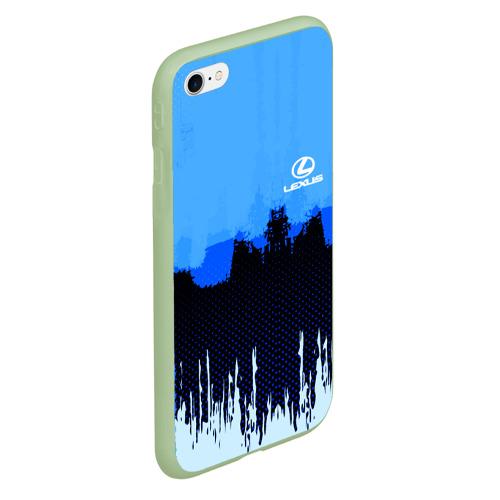 Чехол для iPhone 6Plus/6S Plus матовый Lexus SPORT COLOR Фото 01