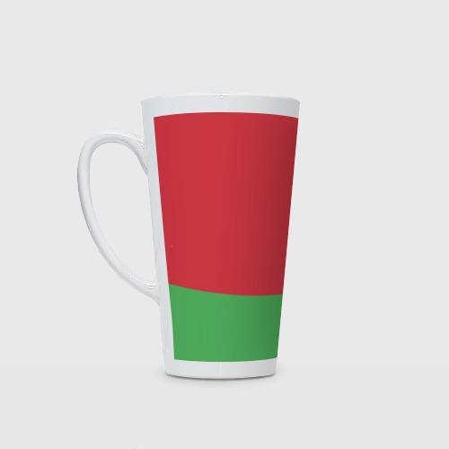 Кружка Латте Белоруссия, лента с гербом