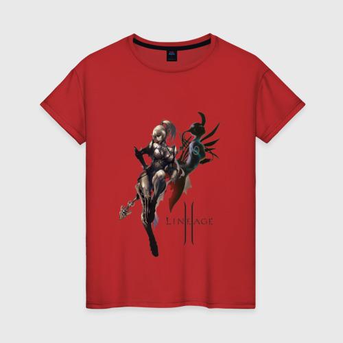Женская футболка хлопок Dark Elf Фото 01