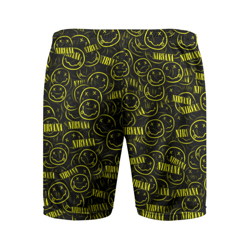 Мужские шорты 3D спортивные  Фото 02, Нирвана