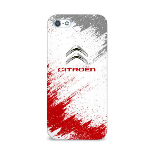 Чехол для Apple iPhone 5/5S 3D  Фото 01, Citroen