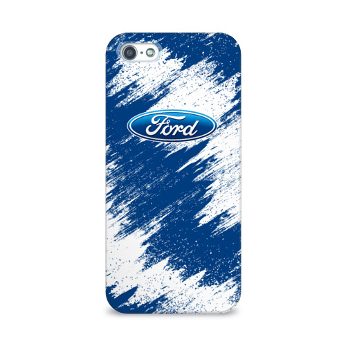 Чехол для Apple iPhone 5/5S 3D  Фото 01, Ford