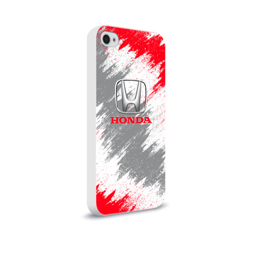 Чехол для Apple iPhone 4/4S soft-touch  Фото 02, Honda