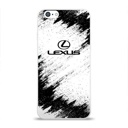 Чехол для Apple iPhone 6 силиконовый глянцевый  Фото 01, Lexus