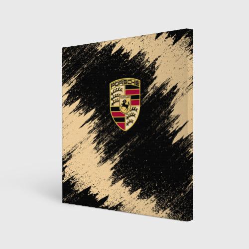 Холст квадратный  Фото 01, Porsche