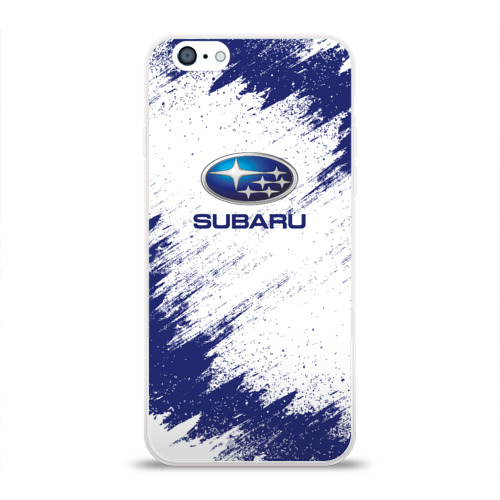 Чехол для Apple iPhone 6 силиконовый глянцевый  Фото 01, Subaru