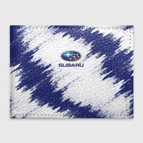 Обложка для студенческого билета Subaru Фото 01