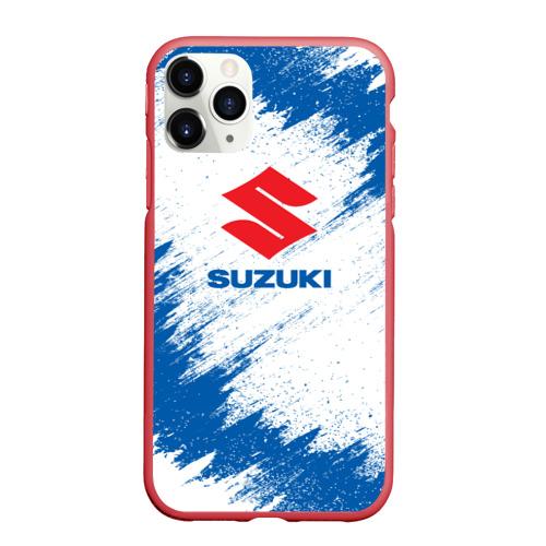 Чехол для iPhone 11 Pro Max матовый Suzuki Фото 01