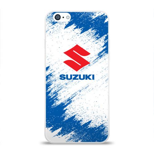 Чехол для Apple iPhone 6 силиконовый глянцевый  Фото 01, Suzuki