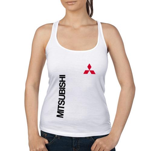 Женская майка борцовка  Фото 01, Mitsubishi