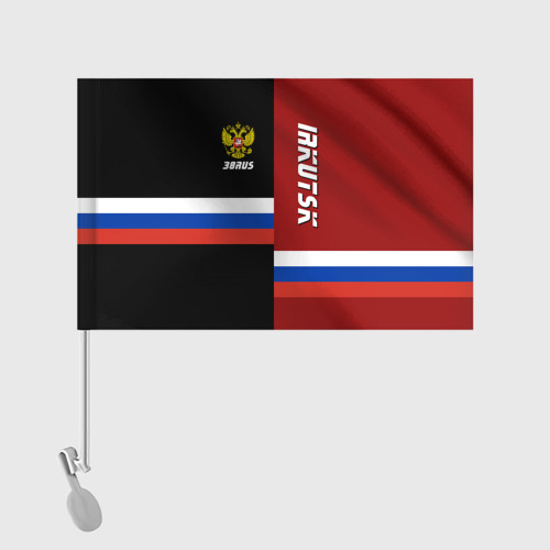 Флаг для автомобиля IRKUTSK (Иркутск)