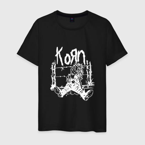 Мужская футболка хлопок Korn