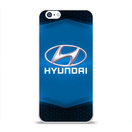 Чехол для Apple iPhone 6 силиконовый глянцевый  Фото 01, Hyundai SPORT