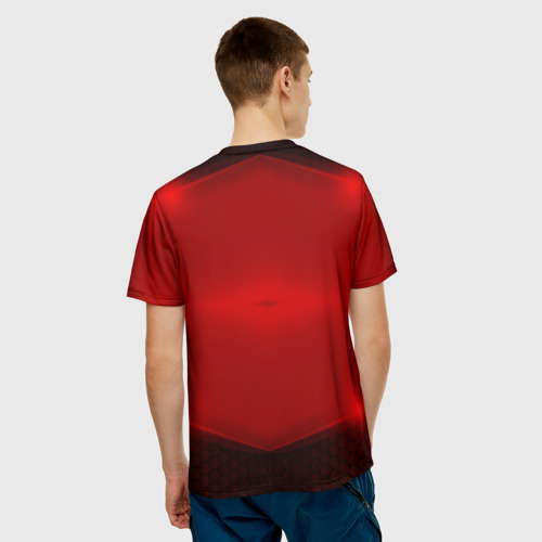 Мужская футболка 3D  Фото 02, Volvo SPORT