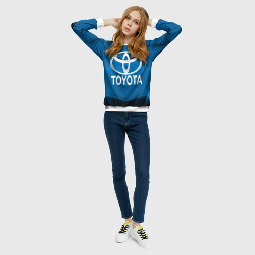 Женский свитшот 3D  Фото 01, Toyota SPORT