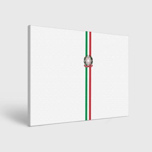 Холст прямоугольный  Фото 01, Италия, лента с гербом