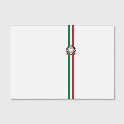 Холст прямоугольный  Фото 02, Италия, лента с гербом