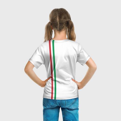 Детская футболка 3D  Фото 04, Италия, лента с гербом