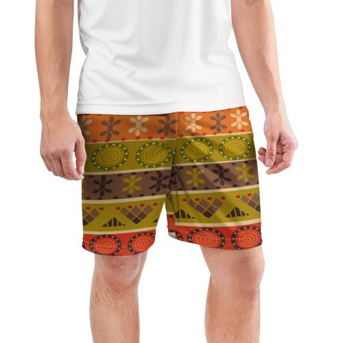 Мужские шорты 3D спортивные  Фото 03, Мексиканский стиль