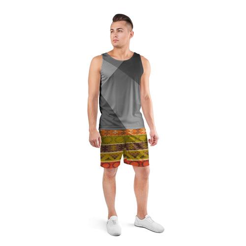Мужские шорты 3D спортивные  Фото 04, Мексиканский стиль