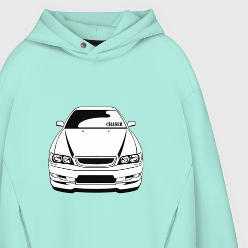 Мужское худи Oversize хлопок Toyota Chaser Фото 01