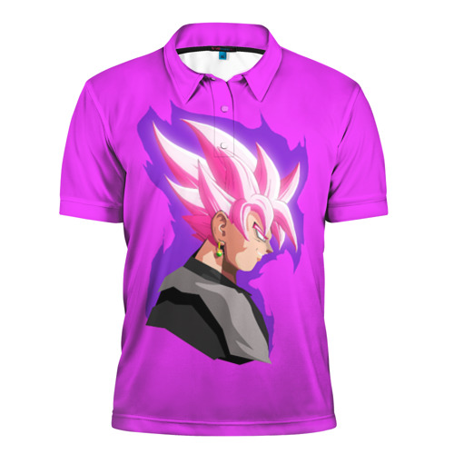 Мужская рубашка поло 3D  Фото 01, Son Goku
