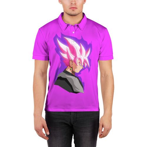 Мужская рубашка поло 3D  Фото 03, Son Goku