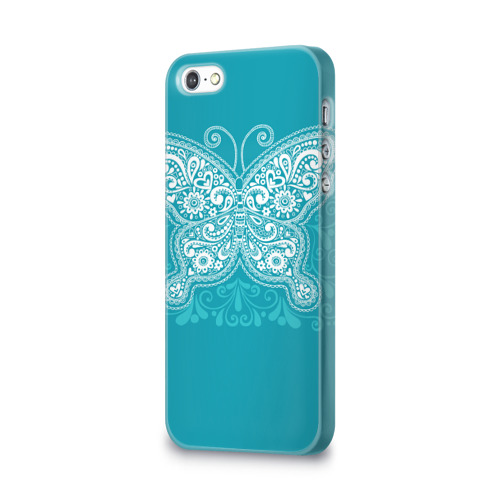 Чехол для Apple iPhone 5/5S 3D  Фото 03, Бабочка