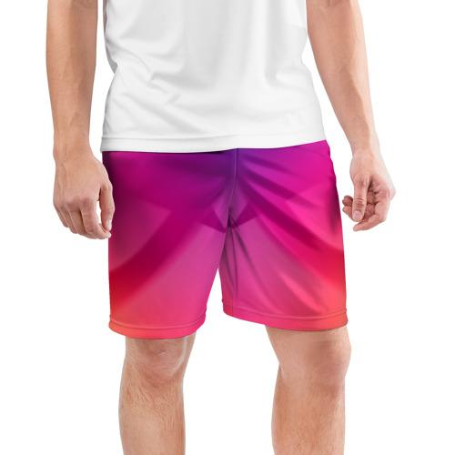 Мужские шорты 3D спортивные  Фото 03, Спектр