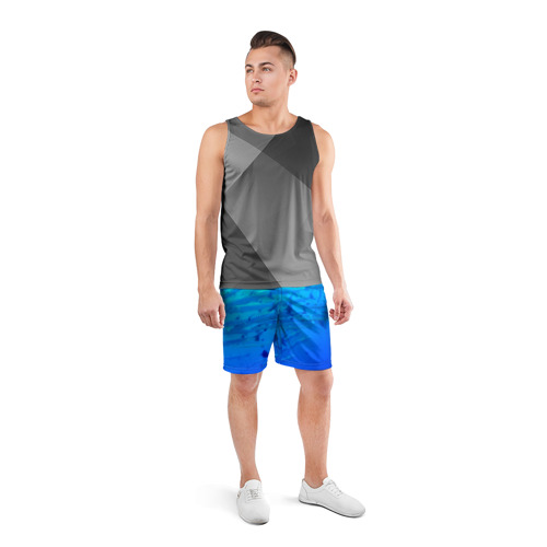 Мужские шорты 3D спортивные  Фото 04, Морская фауна