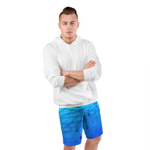 Мужские шорты 3D спортивные  Фото 05, Морская фауна