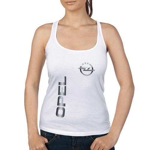 Женская майка борцовка  Фото 01, Opel