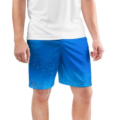 Мужские шорты 3D спортивные  Фото 03, Море