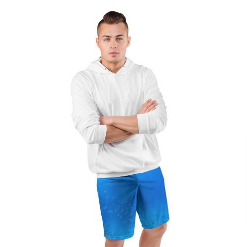 Мужские шорты 3D спортивные  Фото 05, Море