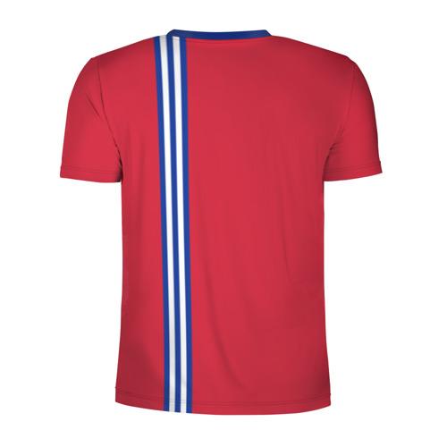Мужская футболка 3D спортивная  Фото 02, Куба, лента с гербом