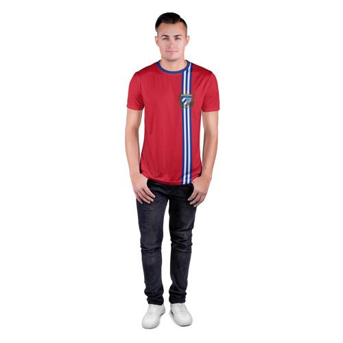 Мужская футболка 3D спортивная  Фото 04, Куба, лента с гербом