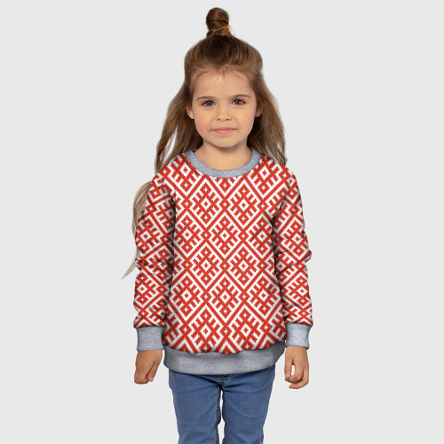 Детский свитшот 3D Обережная Вышивка Фото 01