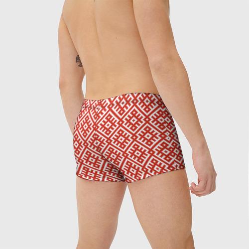 Мужские купальные плавки 3D Обережная Вышивка Фото 01