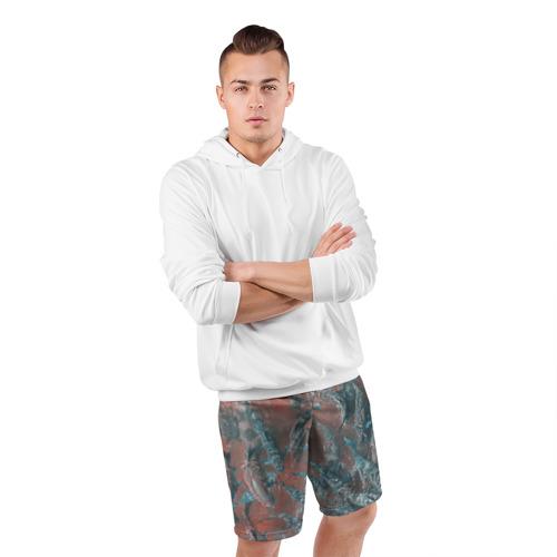 Мужские шорты 3D спортивные  Фото 05, Карп